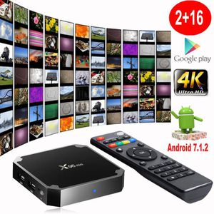 REPARTITEUR TV X96 Mini TV Box Android 7.1.2 Amlogic S905W Quad C