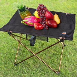 CARRÉ POTAGER - TABLE table pliante portative en aluminium de meubles d'