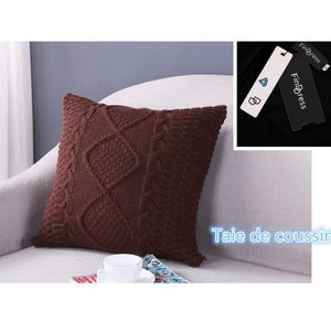 HOUSSE DE COUSSIN FindDress Soft Feel Couverture canapé lit Home Dec