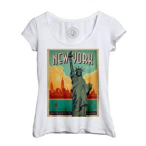 New York est une sympathique ville Drôle Hommes Femmes Débardeur Tank Top Unisexe T Shirt 1282