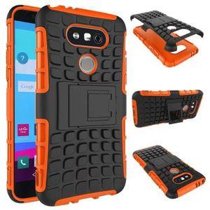 COQUE - BUMPER JWmall® Coque Antichocs LG G5 (Orange)