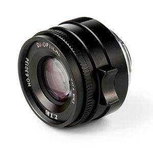 OBJECTIF 7 Artisan Objectif de la caméra 35mm F2.0 noir pou