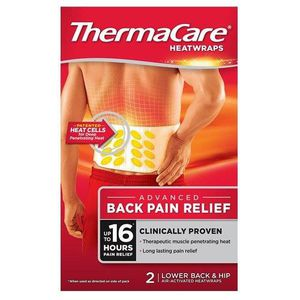 TROUBLE MUSCULAIRE ThermaCare Lower Back Heat Wrap