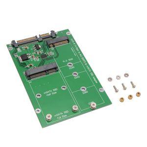 DISQUE DUR SSD XCSOURCE Combiné 2 en 1 Mini PCI-E M.2 B-Key NGFF