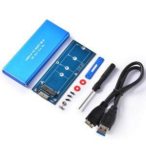DISQUE DUR SSD Disque dur USB 3.0 M.2 Adaptateur de boîtier disqu