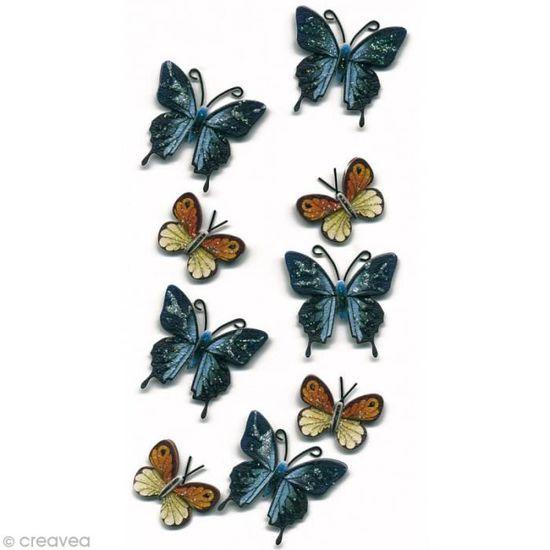 doublure de tiroir amovible pour comptoir Papier autocollant en vinyle avec papillons pour /étag/ère D/écors cr/éatifs 45/x 199,9/cm commode murale papier peint pour armoires