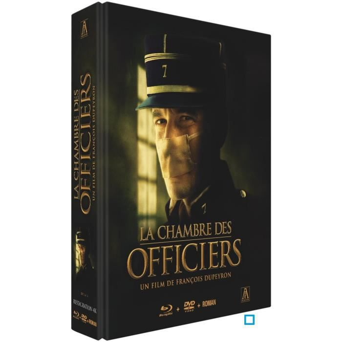 Combo blu ray dvd la chambre des officiers en blu ray film for Resume la chambre des officiers