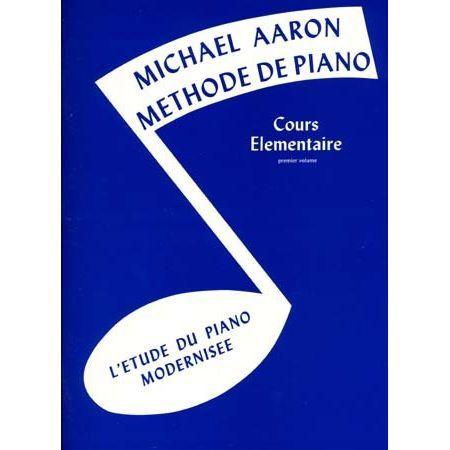 AARON METHODE DE PIANO T.1 COURS ELEMENTAIRE P