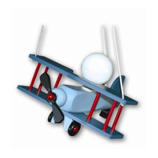 Lampe Suspension Enfant Aeronef Bleu
