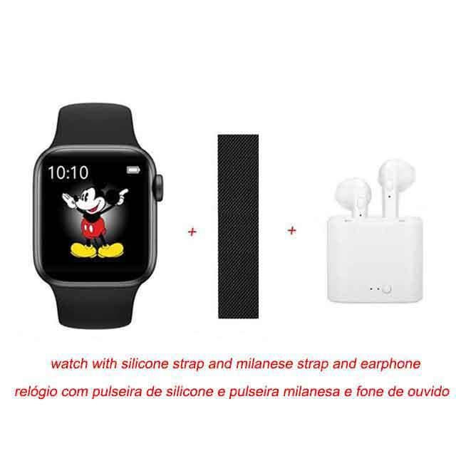 Rodrigo – montre connectée Reis IWO MAX 2.0 PRO, bracelet de Sport, étanche, avec boutons de rotation, a with retail box -CLAT8085