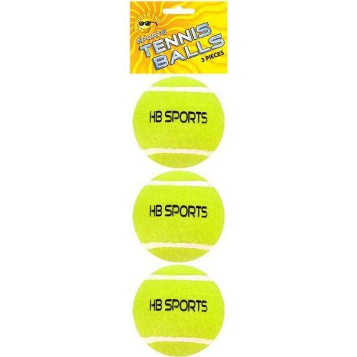 3pk Balles de tennis