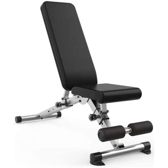 Raelf Banc de fitness pliable pour abdominaux, banc de musculation, banc de musculation, banc de musculation, banc de presse, &e230