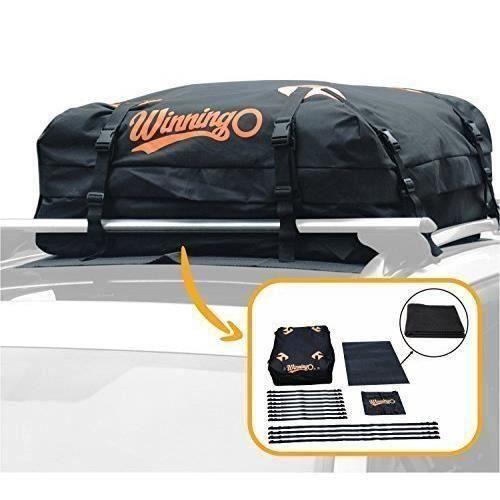 Sac de Toit de Voiture, sac de fret résistant à l'eau facile à installer les porte-bagages doux - 115 (L) x 90 (W) x 40 (h) L T02D8C