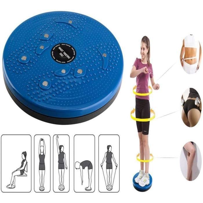 LaoSiJi Taille de Disque de Torsion d'aérobic Fitness Réflexologie Aimants d'équilibre d'exercice équipement