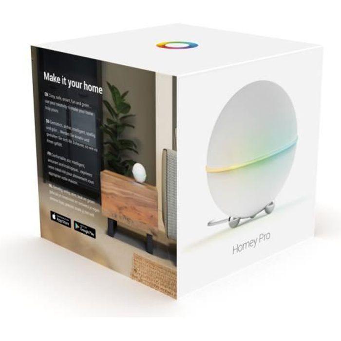 Box domotique Homey PRO Z-Wave, Zigbee, 433Mhz, Bluetooth, Infrarouge & Wifi - Athom