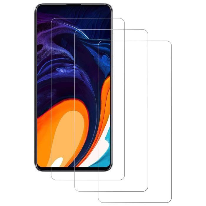 Verre Trempé Samsung Galaxy A12, 3 Pièces Films protecteurs d'écran Ultra-Fin 0.3 mm Anti-empreinte Digitale Anti-Rayure