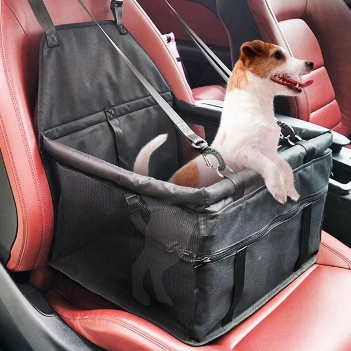 Leytn® Siège de voiture pour chien Sac Siège de transport chien chat portable étanche respirant Siège Auto Chien