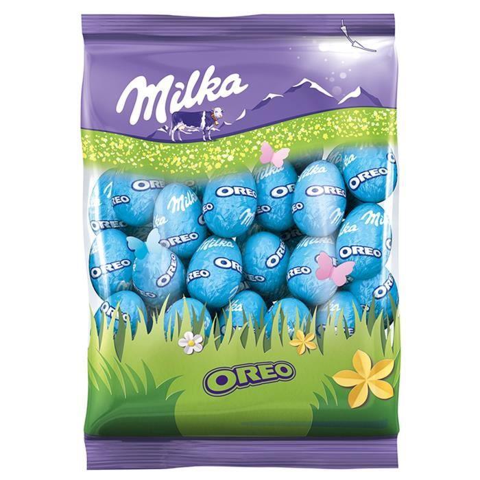 MILKA Chocolat Petits Oeufs Oreo - 350 g