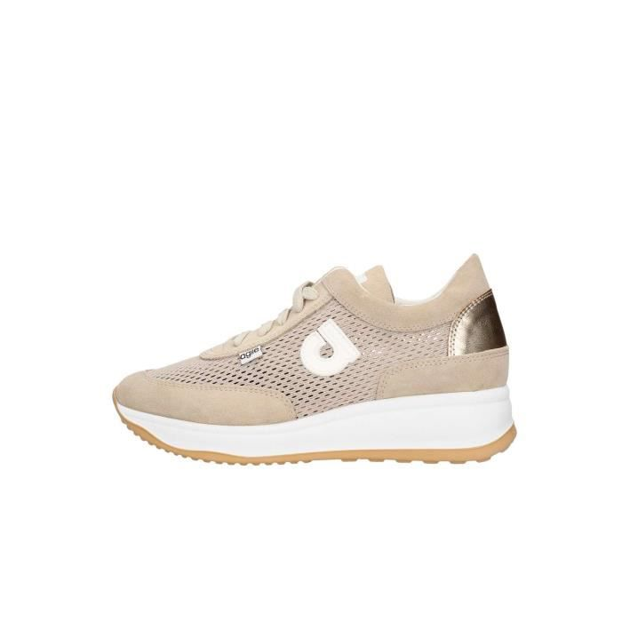 Agile By Rucoline 1304 chaussures de tennis Femme beige