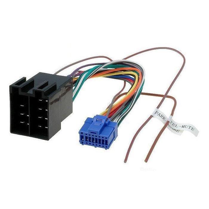 Cable adaptateur ISO autoradio Pioneer AVH-P5400DVD AVH-P5700DVD AVH-P5900DVD
