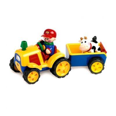 Le tracteur et sa remorque + personnages - Tolo
