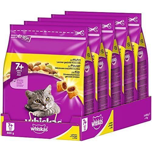 whiskas Chat Adult Croquettes Nourriture pour Chat 5900951259463