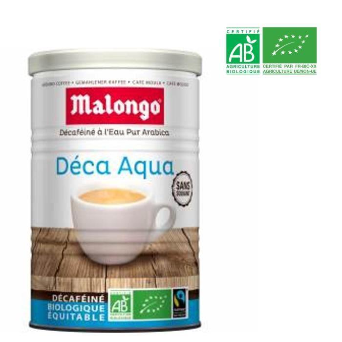 MALONGO Café décafeiné aqua bio 250g