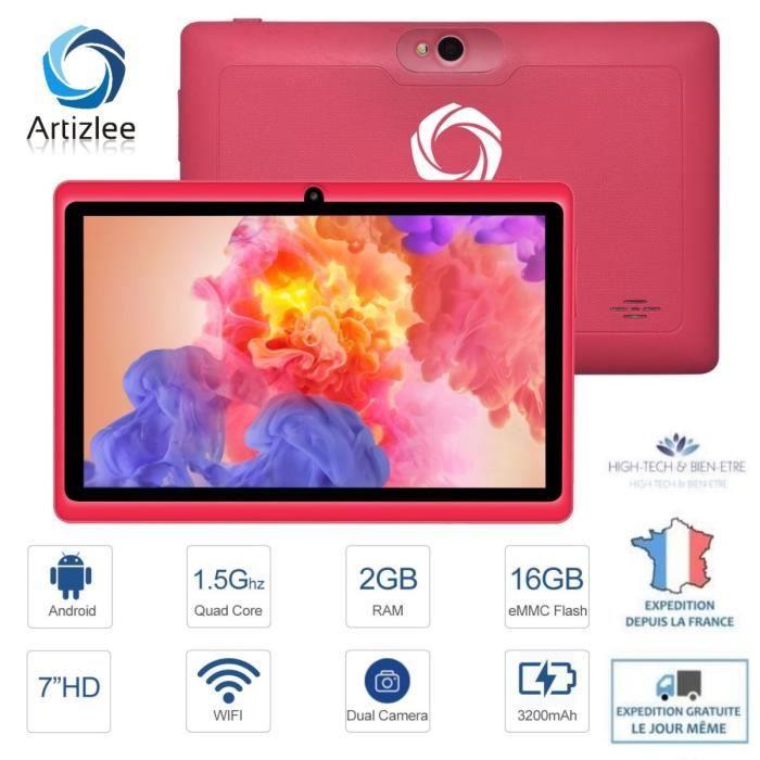 "TABLETTE TACTILE Tablette 16Go 7"" HD- Artizlee® Tablette tactile en"