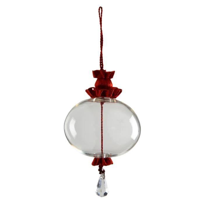 Boule de Noël en Verre Soufflé   Fil Rouge   Achat / Vente boule