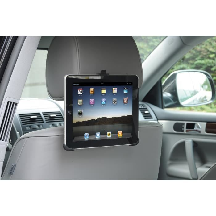 support universel pour tablettes ipad galaxy gps voiture auto appui t te achat vente porte. Black Bedroom Furniture Sets. Home Design Ideas