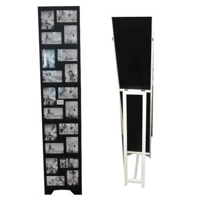 cadre photos p le m le sur pied 20 vues noir achat. Black Bedroom Furniture Sets. Home Design Ideas