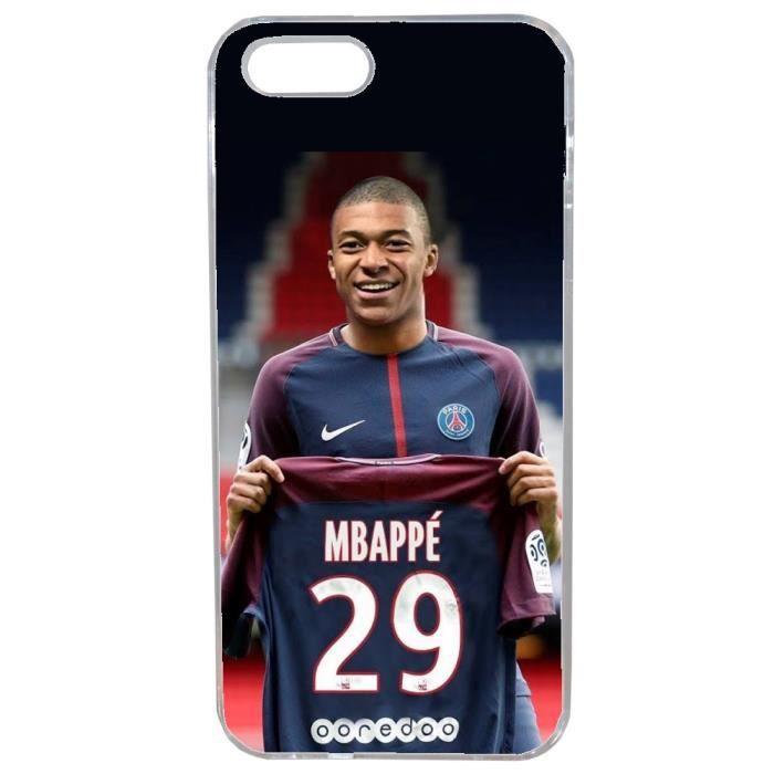 coque iphone 5 5s foot kylian mbappe psg joueur my