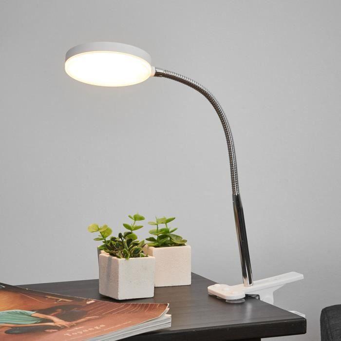 LAMPE A POSER Lampenwelt lampe à pince LED pour salon et salle à