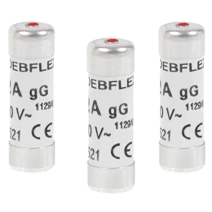 30 x 1A 1 amp domestique ménage fusibles secteur plug cartouche céramique tube fuse