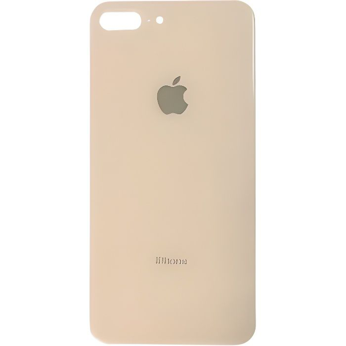 vitre arriere iphone 8 plus logo or