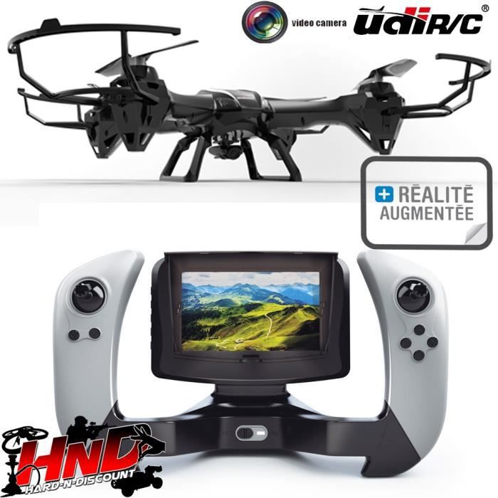 drone radiocommand lark fpv udi rc u842 1 avec cam ra. Black Bedroom Furniture Sets. Home Design Ideas