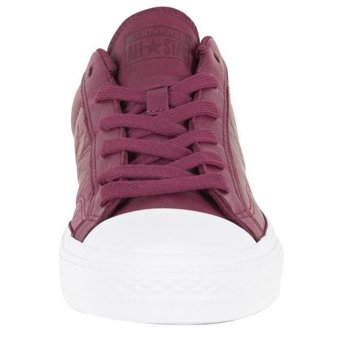 Player OX Rouge Formateurs Homme Star Converse Star Converse Homme ZqpvW