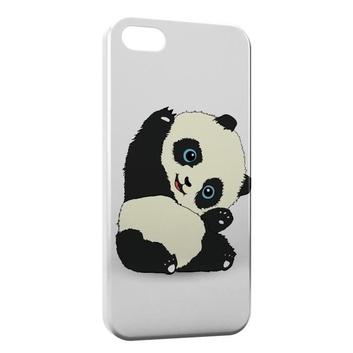 coque iphone 5 5s panda kawaii cute
