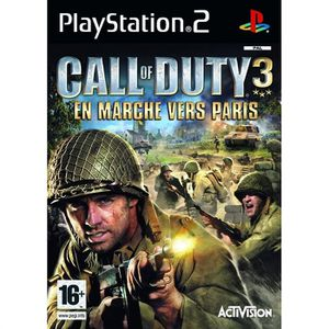 JEU PS2 CALL OF DUTY 3 EM MARCHE VERS PARIS / JEU CONSOLE