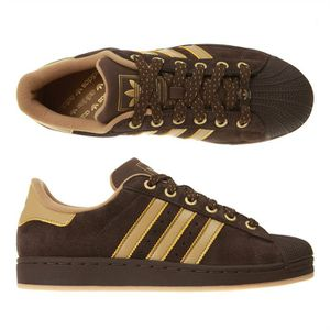 superstar adidas homme marron