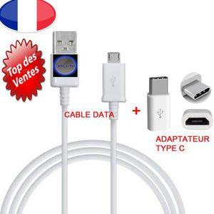 CÂBLE TÉLÉPHONE Câble Chargeur DATA Synchronisation avec Adaptateu