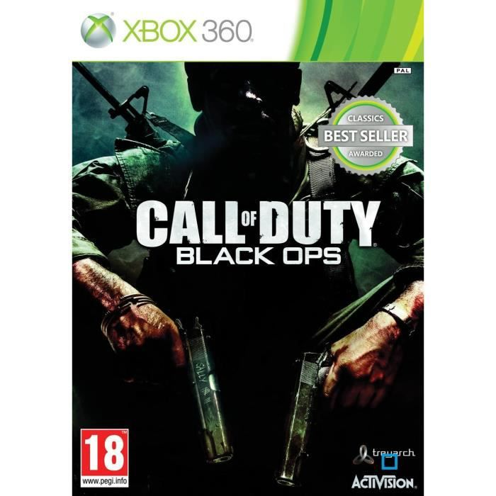 JEU XBOX 360 Call Of Duty Black Ops Classics Jeu XBOX 360