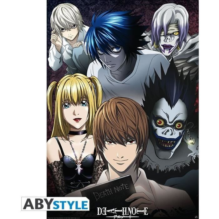 Poster Death Note : Groupe