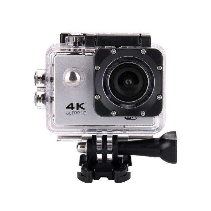 Caméra de contrôle à distance étanche 4K Wifi 1080P Sports Action Caméra DVR Cam caméscope WESE343