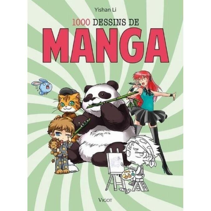1000 dessins de manga