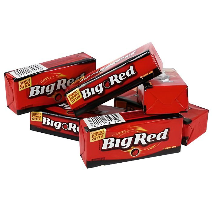 BIG RED Chewing-Gum Cannelle [Boite de 8 paquets]