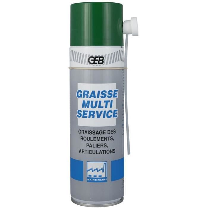 Aérosol graisse multiservice - 500mL