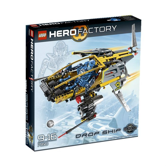 Lego Hero Factory Le vaisseau héro