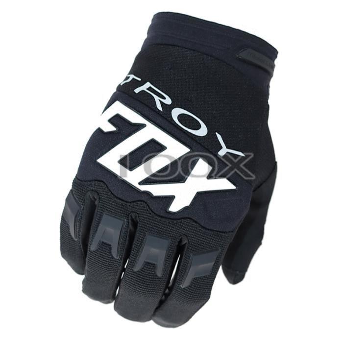 Gants,gants de vélo de montagne tout terrain,vtt,Scooter,Moto de rue,vert,noir,gants de course Enduro,2018 - Type Black