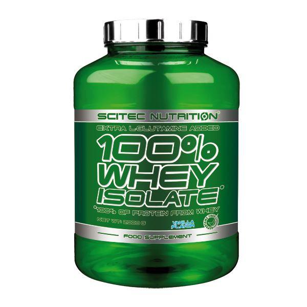 100% Whey Isolate 2000 gr vanille